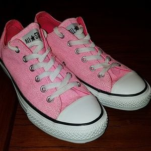 Converse All Star Pink Canvas Lowtop